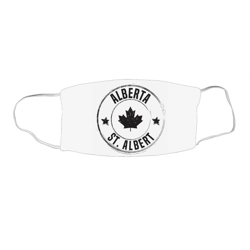 St. Albert -  Alberta Face Mask Rectangle | Artistshot