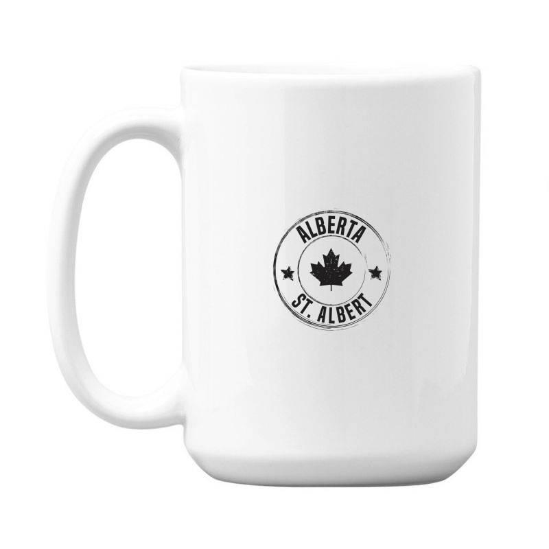 St. Albert -  Alberta 15 Oz Coffe Mug | Artistshot