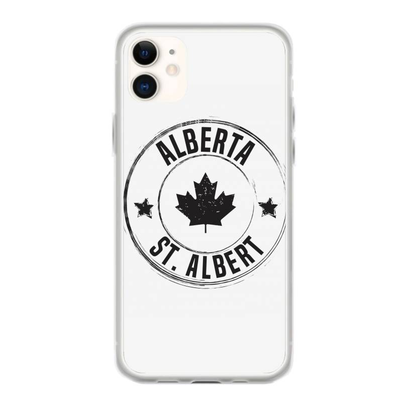 St. Albert -  Alberta Iphone 11 Case | Artistshot