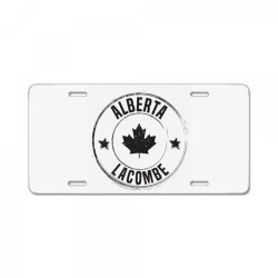 Lacombe -  Alberta License Plate | Artistshot