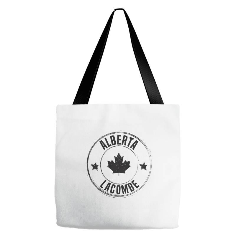 Lacombe -  Alberta Tote Bags | Artistshot