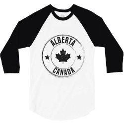 Alberta - Canada 3/4 Sleeve Shirt   Artistshot