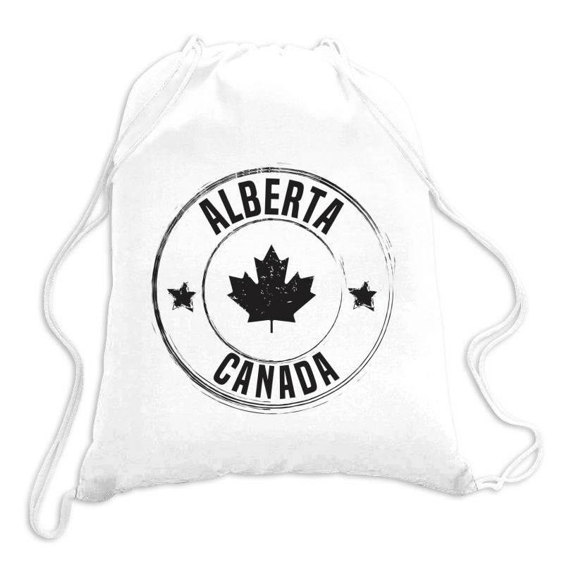 Alberta - Canada Drawstring Bags | Artistshot