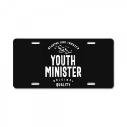 Youth Minister Gift Funny Job Title Profession Birthday Idea License Plate | Artistshot