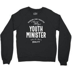 Youth Minister Gift Funny Job Title Profession Birthday Idea Crewneck Sweatshirt   Artistshot