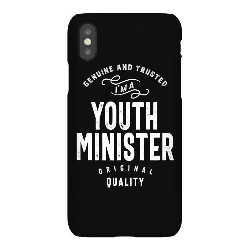 Youth Minister Gift Funny Job Title Profession Birthday Idea Iphonex Case   Artistshot