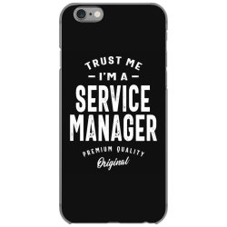Service Manager Gift Funny Job Title Profession Birthday Idea iPhone 6/6s Case | Artistshot