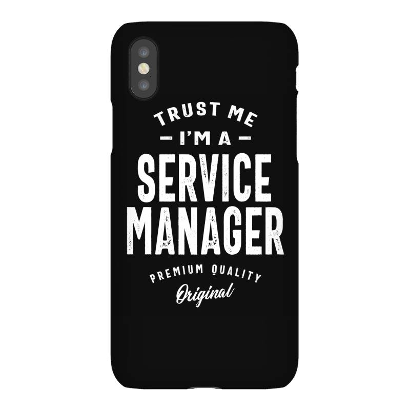 Service Manager Gift Funny Job Title Profession Birthday Idea Iphonex Case | Artistshot