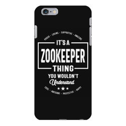 Zookeeper Gift Funny Job Title Profession Birthday Idea iPhone 6 Plus/6s Plus Case | Artistshot