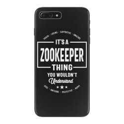 Zookeeper Gift Funny Job Title Profession Birthday Idea iPhone 7 Plus Case | Artistshot