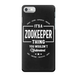 Zookeeper Gift Funny Job Title Profession Birthday Idea iPhone 7 Case | Artistshot