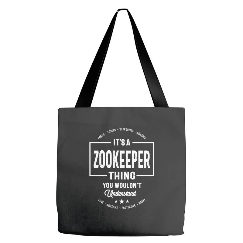 Zookeeper Gift Funny Job Title Profession Birthday Idea Tote Bags | Artistshot