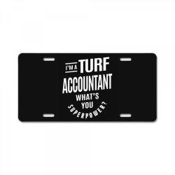 Turf Accountant Gift Funny Job Title Profession Birthday Idea License Plate | Artistshot