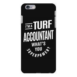 Turf Accountant Gift Funny Job Title Profession Birthday Idea iPhone 6 Plus/6s Plus Case | Artistshot