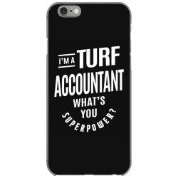 Turf Accountant Gift Funny Job Title Profession Birthday Idea iPhone 6/6s Case | Artistshot