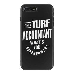 Turf Accountant Gift Funny Job Title Profession Birthday Idea iPhone 7 Plus Case | Artistshot