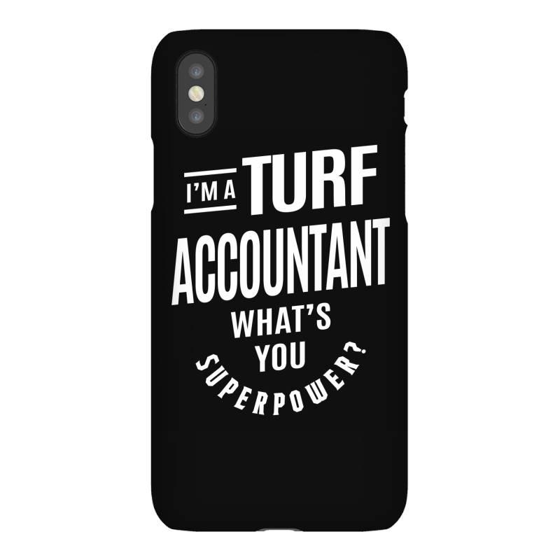 Turf Accountant Gift Funny Job Title Profession Birthday Idea Iphonex Case | Artistshot