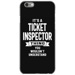 Ticket Inspector Gift Funny Job Title Profession Birthday Idea iPhone 6/6s Case | Artistshot