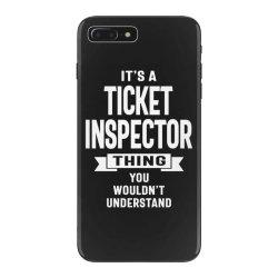 Ticket Inspector Gift Funny Job Title Profession Birthday Idea iPhone 7 Plus Case | Artistshot