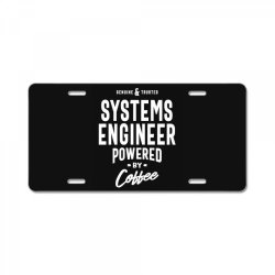 Systems Engineer Gift Funny Job Title Profession Birthday Idea License Plate | Artistshot