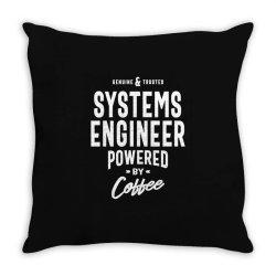 Systems Engineer Gift Funny Job Title Profession Birthday Idea Throw Pillow | Artistshot