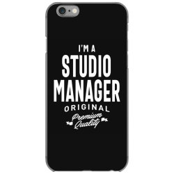Studio Manager Gift Funny Job Title Profession Birthday Idea iPhone 6/6s Case | Artistshot