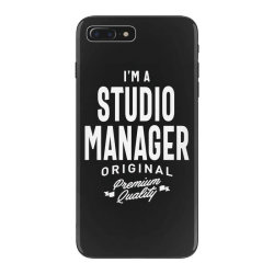 Studio Manager Gift Funny Job Title Profession Birthday Idea iPhone 7 Plus Case | Artistshot