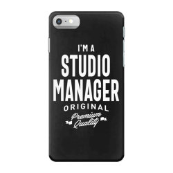 Studio Manager Gift Funny Job Title Profession Birthday Idea iPhone 7 Case | Artistshot