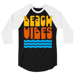 Beach Vibes 3/4 Sleeve Shirt | Artistshot
