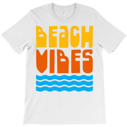 Beach Vibes T-shirt Designed By Ombredreams