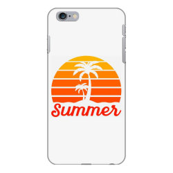 Summer Beach Palm Tree iPhone 6 Plus/6s Plus Case | Artistshot