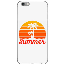 Summer Beach Palm Tree iPhone 6/6s Case | Artistshot