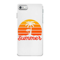 Summer Beach Palm Tree iPhone 7 Case | Artistshot