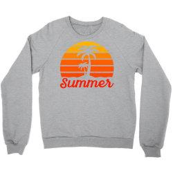 Summer Beach Palm Tree Crewneck Sweatshirt | Artistshot