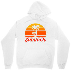 Summer Beach Palm Tree Unisex Hoodie | Artistshot