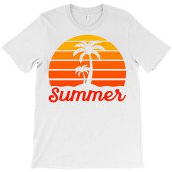 Summer Beach Palm Tree T-Shirt | Artistshot