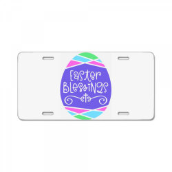 Easter Blessings License Plate | Artistshot