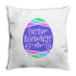 Easter Blessings Throw Pillow | Artistshot