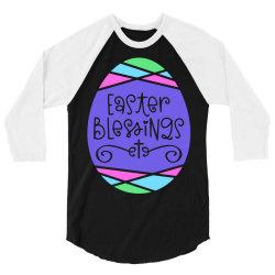 Easter Blessings 3/4 Sleeve Shirt | Artistshot
