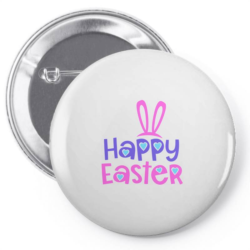 Happy Easter Pin-back Button | Artistshot