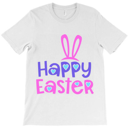 Happy Easter T-shirt Designed By Ombredreams