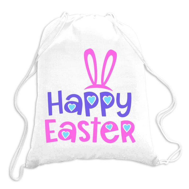 Happy Easter Drawstring Bags | Artistshot