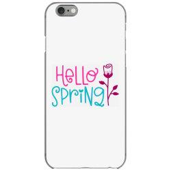 Hello Spring iPhone 6/6s Case | Artistshot