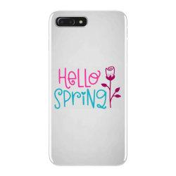 Hello Spring iPhone 7 Plus Case | Artistshot
