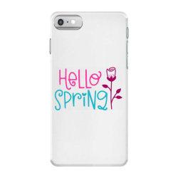 Hello Spring iPhone 7 Case | Artistshot