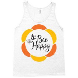 Bee Happy Tank Top   Artistshot