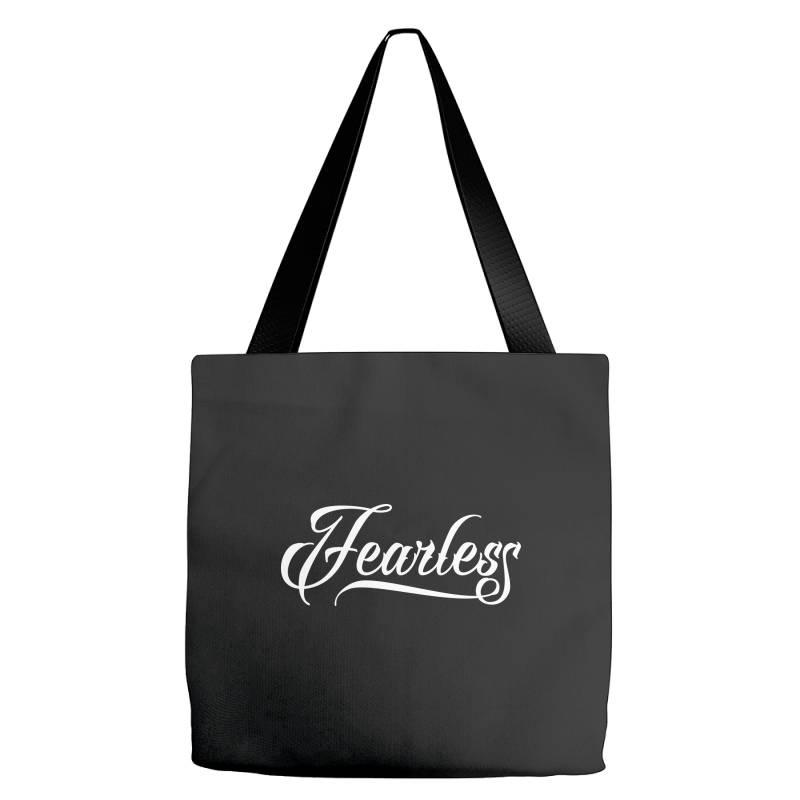 Fearless Tote Bags | Artistshot