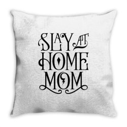 Stay at Home Mom Throw Pillow | Artistshot