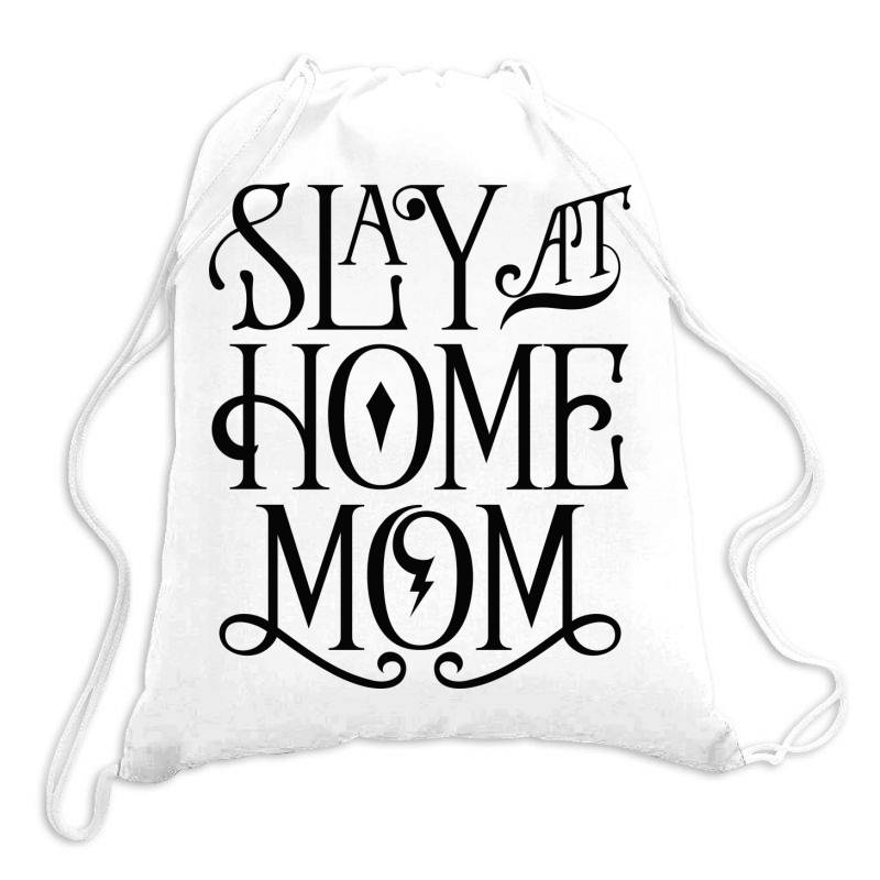 Stay At Home Mom Drawstring Bags | Artistshot