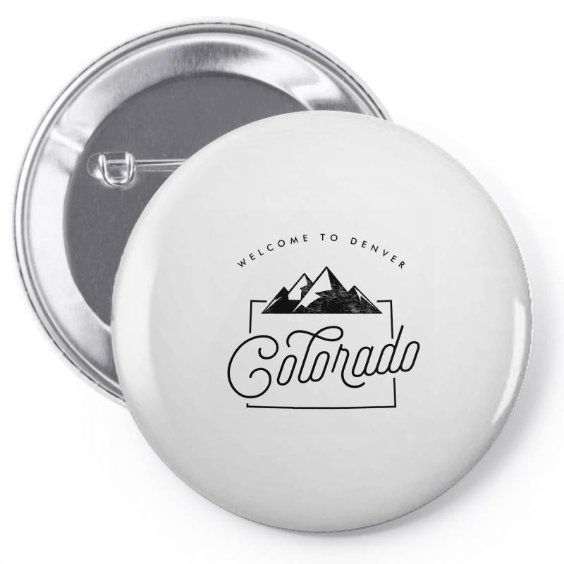 Welcome To Colorado Pin-back Button | Artistshot